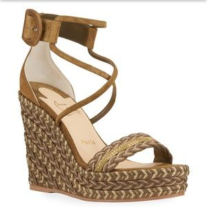 New Size 38 Christian Louboutin Bodrum Sandals